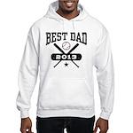 Best Dad 2013 Baseball Hooded Sweatshirt