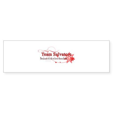 Team Salvatore Sticker (Bumper)