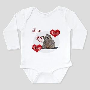 Hugs and kisses Long Sleeve Infant Bodysuit