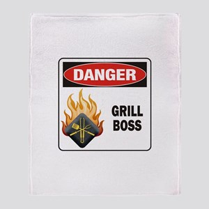 Grill Boss Throw Blanket