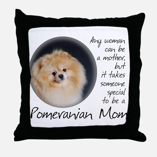 Pom Mom Throw Pillow