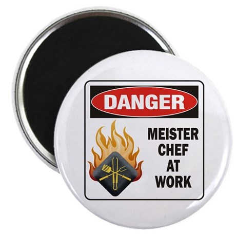 "Meister Chef 2.25"" Magnet (100 pack)"