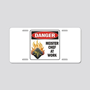 Meister Chef Aluminum License Plate