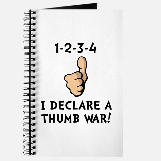 Thumb War Journal
