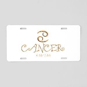 Cancer Aluminum License Plate