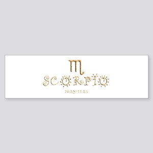 Scorpio Sticker (Bumper)