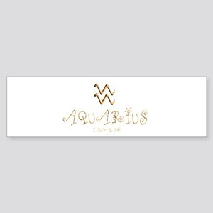 Aquarius Sticker (Bumper)