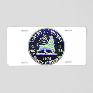 H.I.M. 10 Aluminum License Plate