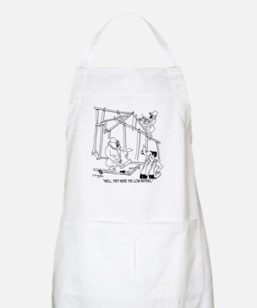 They Were Low Bidders Apron