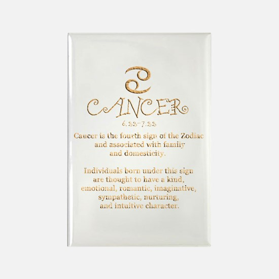 Cancer Rectangle Magnet