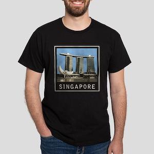 Singapore Marina Bay Sands Dark T-Shirt