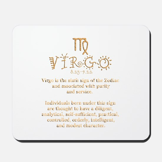 Virgo Mousepad