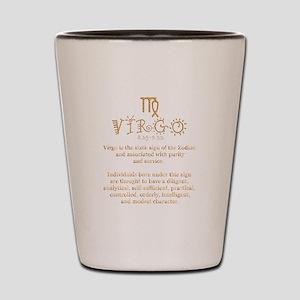 Virgo Shot Glass