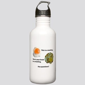 Meetings Stainless Water Bottle 1.0L