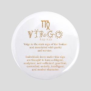 "Virgo 3.5"" Button"