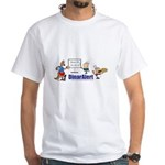 White T-Shirt w/Conference Call Logo