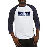 RetiredBossYourself Baseball Jersey