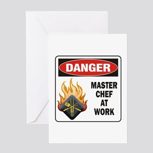 Master Chef Greeting Card
