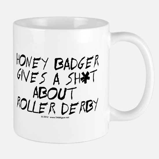 Derby Honey Badger Mug