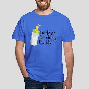 Daddy's Drinking Buddy Dark T-Shirt