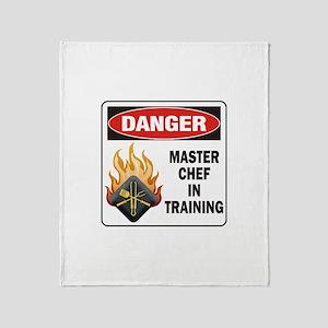 Master Chef Throw Blanket