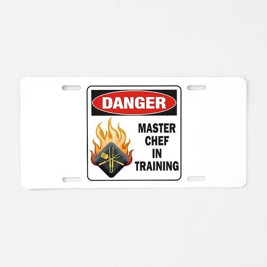 Master Chef Aluminum License Plate