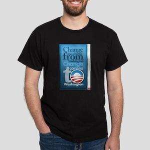 Change comes to washington Dark T-Shirt