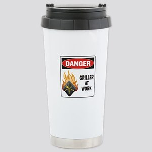 Griller Stainless Steel Travel Mug