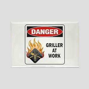 Griller Rectangle Magnet