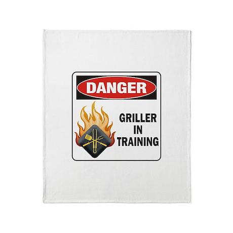 Griller Throw Blanket