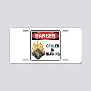 Griller Aluminum License Plate
