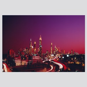 Georgia, Atlanta, night