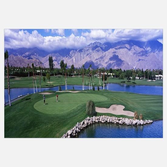 California, Palm Springs, golf course