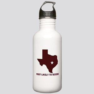 Most Likely To Secede (Maroon Stainless Water Bott