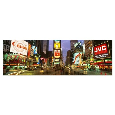 Times Square New York NY Canvas Art