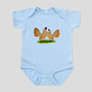 Buff Sebrights Infant Bodysuit