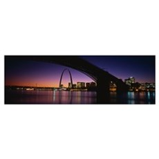 St. Louis MO Framed Print