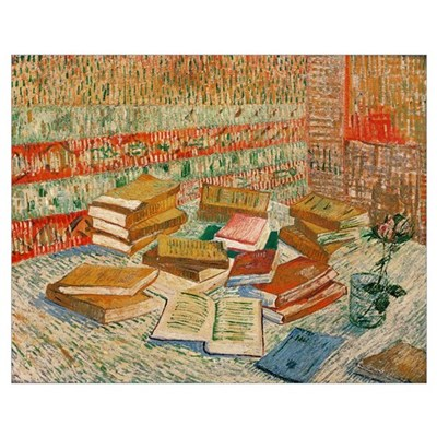 The Yellow Books, 1887 (oil on canvas) Poster