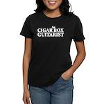 Cigar Box Guitarist Women's Dark T-Shirt