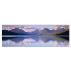 Lake McDonald Glacier National Park MT Poster