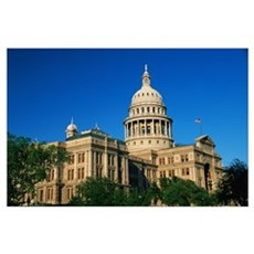 State Capitol Building Austin TX Poster