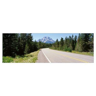 Oregon, Mount Bachelor, Cascade Lakes Highway Poster