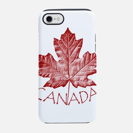 Canada Souvenirs Vintage Canad iPhone 7 Tough Case