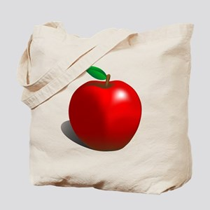 Red Apple Fruit Tote Bag
