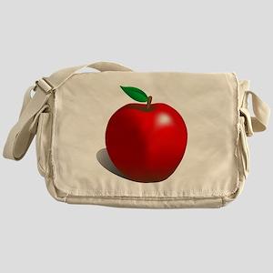 Red Apple Fruit Messenger Bag