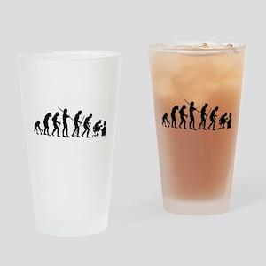 De-Evolution Drinking Glass