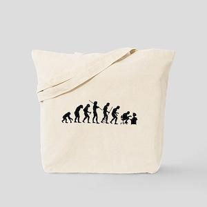 De-Evolution Tote Bag