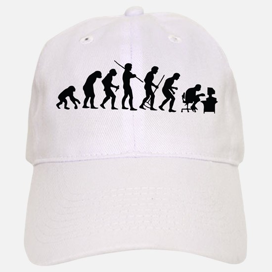De-Evolution Baseball Baseball Cap