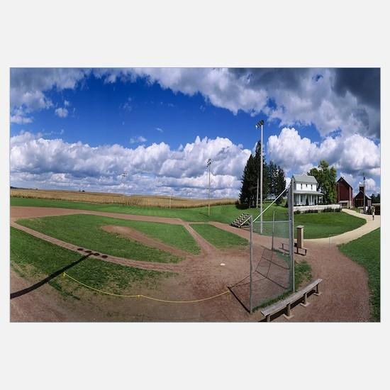 Farm Baseball Diamond Dyersville IA