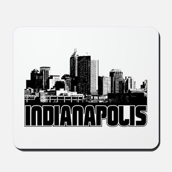 Indianapolis Skyline Mousepad